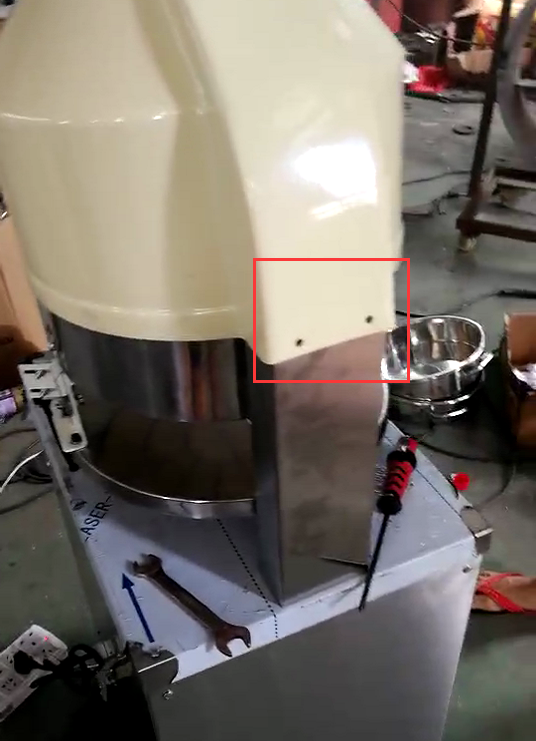 电动面团分块机